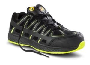 Sapato de Segurança Desportivo, extraleve, em Microfibra com reforço de TPU