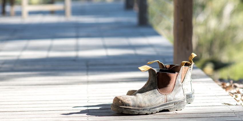 calçado de segurança e proteção