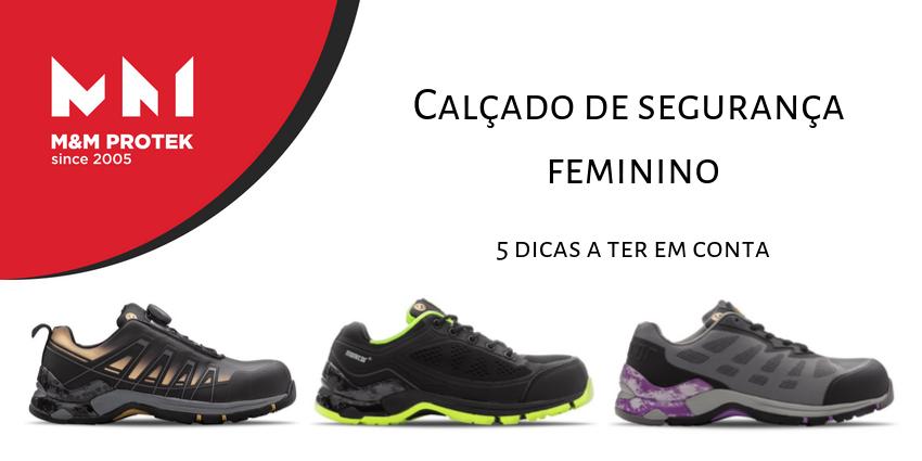 Calçado de segurança feminino (2)