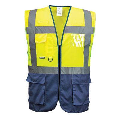 O colete refletor é uma das peças de vestuário de alta visibilidade mais popular